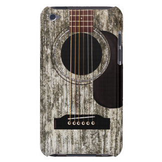 Old Wood Acoustic Guitar iPod Case-Mate Case