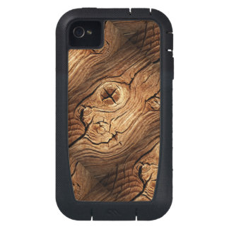 Old Wood Case-Mate Tough Xtreme iPhone 4 iPhone4 Case