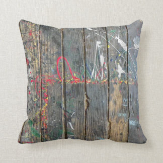 Old Wood Cover Pillow! Cushion