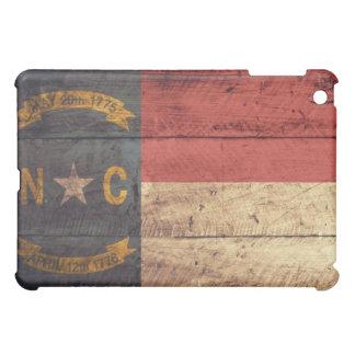 Old Wood North Carolina Flag; Cover For The iPad Mini