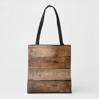 Old Wood Planks Tote Bag