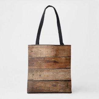 Old Wood Planks Tote Bag
