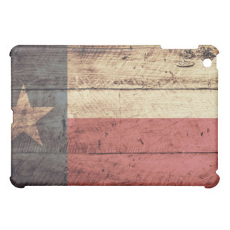 Old Wood Texas Flag iPad Mini Covers