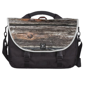 Old wood wall bags for laptop