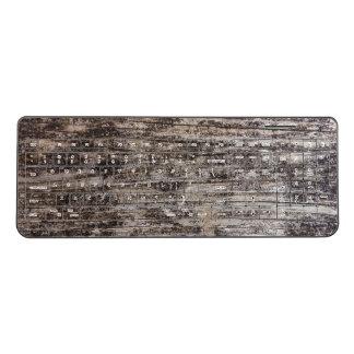 Old Wood Wireless Keyboard