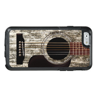 Old Wooden Acoustic Guitar OtterBox iPhone 6/6s Case