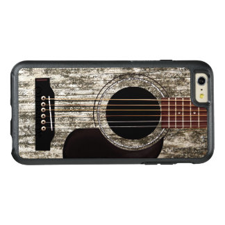 Old Wooden Acoustic Guitar OtterBox iPhone 6/6s Plus Case