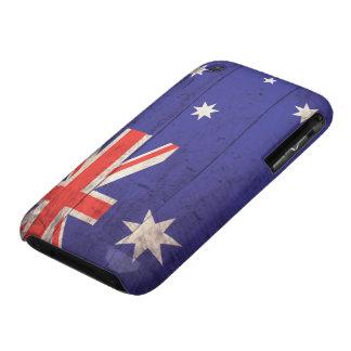 Old Wooden Australia Flag iPhone 3 Case