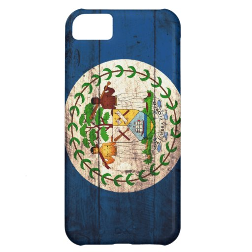 Old Wooden Belise Flag iPhone 5C Covers