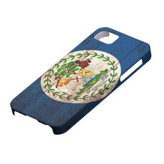 Old Wooden Belise Flag iPhone 5 Case