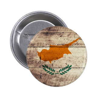 Old Wooden Cyprus Flag Pin