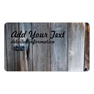 Old Wooden Door Business Card