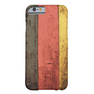 Old Wooden Germany Flag Barely There iPhone 6 Case