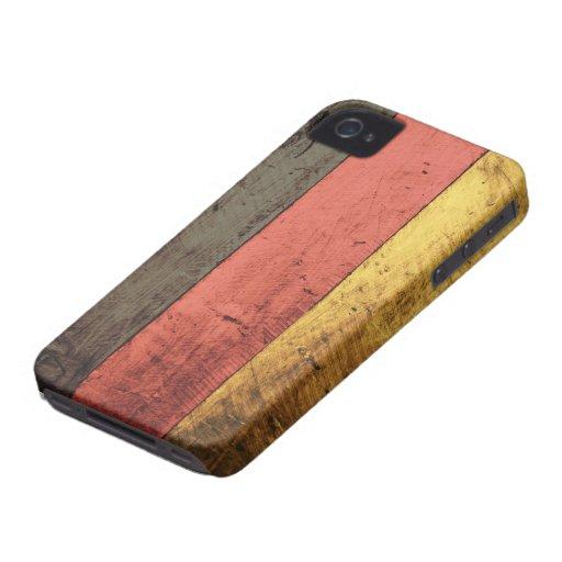 Old Wooden Germany Flag Blackberry Bold Case