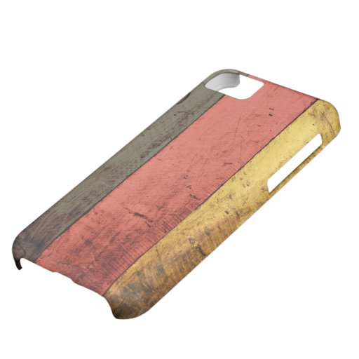 Old Wooden Germany Flag iPhone 5C Case