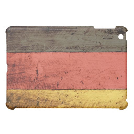 Old Wooden Germany Flag iPad Mini Covers