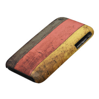 Old Wooden Germany Flag iPhone 3 Case-Mate Case
