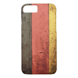 Old Wooden Germany Flag iPhone 7 Case