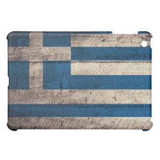 Old Wooden Greece Flag iPad Mini Cases