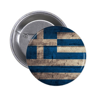 Old Wooden Greece Flag Pins