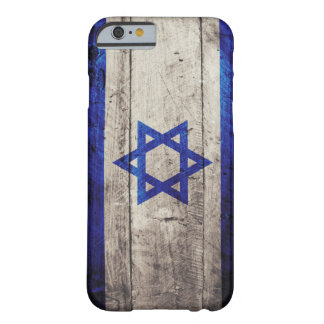 Old Wooden Israel Flag Barely There iPhone 6 Case