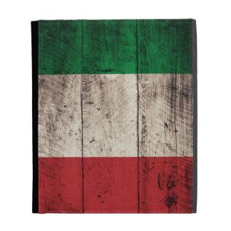 Old Wooden Italian Flag iPad Folio Covers