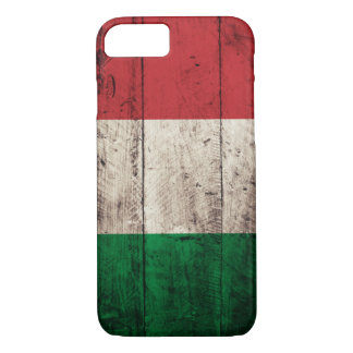 Old Wooden Italy Flag iPhone 8/7 Case