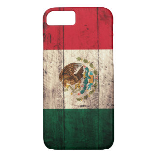 Old Wooden Mexico Flag iPhone 8/7 Case