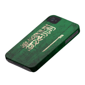 Old Wooden Saudi Flag iPhone 4 Cover
