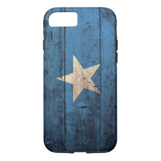 Old Wooden Somalia Flag iPhone 7 Case