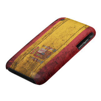 Old Wooden Spain Flag iPhone 3 Covers
