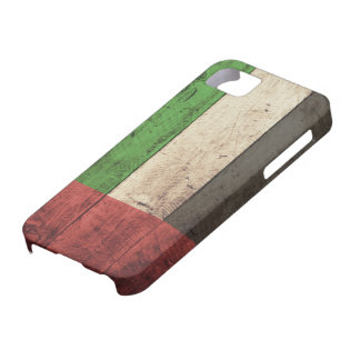 Old Wooden United Arab Emirates Flag Case For The iPhone 5