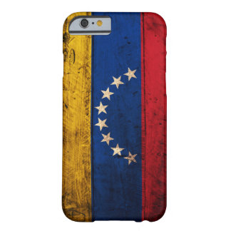Old Wooden Venezuela Flag Barely There iPhone 6 Case