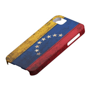 Old Wooden Venezuela Flag iPhone 5 Cover