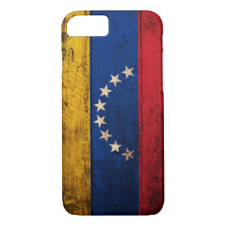 Old Wooden Venezuela Flag iPhone 8/7 Case