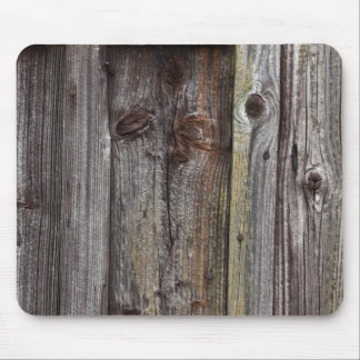 Old wooden wall mousepad