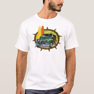 Old Woody Classic Car T-Shirt