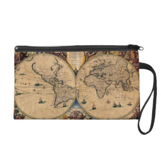 Old World Bag Wristlet Purses