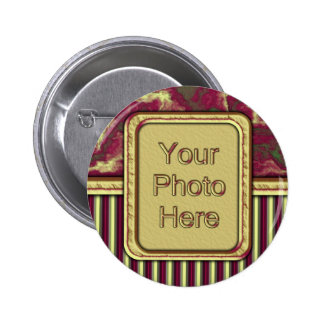 Old World Charm Pinback Button