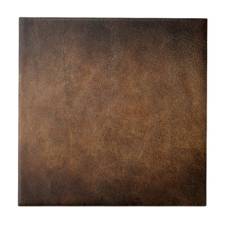 Old World Faux Leather Ceramic Tile