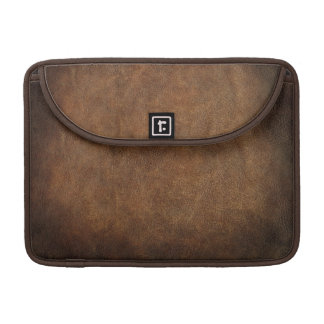Old World Faux Leather Sleeve For MacBook Pro