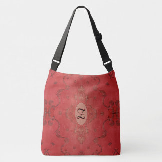 Old World Heritage Embroidery Crossbody Bag