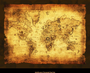World map canvas prints wall art zazzle old world map art print gumiabroncs Images