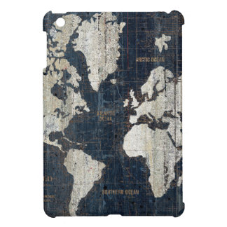 Old World Map Blue Case For The iPad Mini