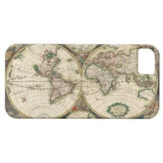 Old World Map iPhone 5 Covers