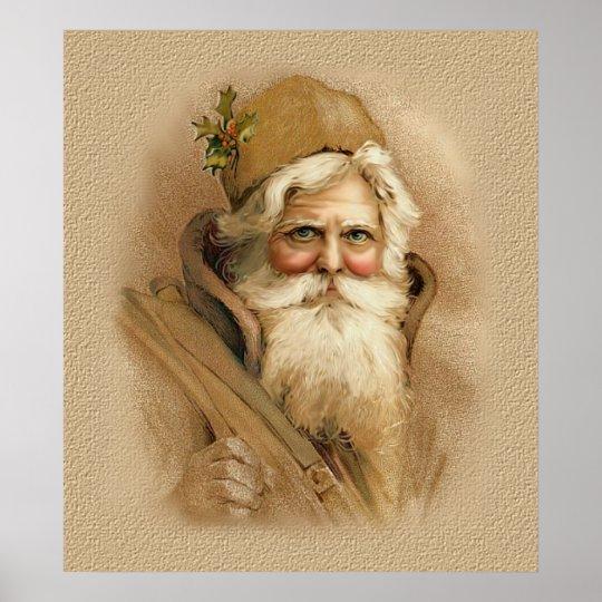 Old World Santa 2 Poster