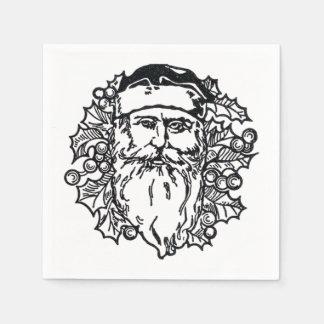 Old World Santa Paper Napkins