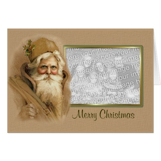 Old World Santa - Verse Card