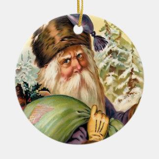 Old World Santa Vintage Christmas Ornament