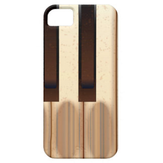 Old Worn Piano Keys iPhone 5 Cover